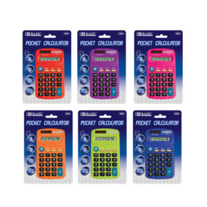 Colors 8 Digit Calculator