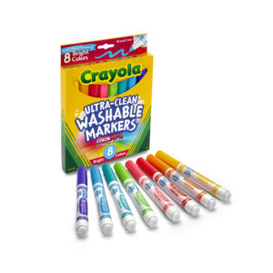 Ultra-Clean Washable Markers Bright