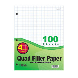 Graph Paper Filler 100ct.