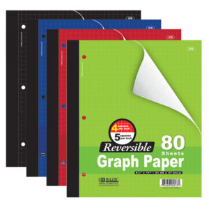 Reversable Graph Paper 80ct.